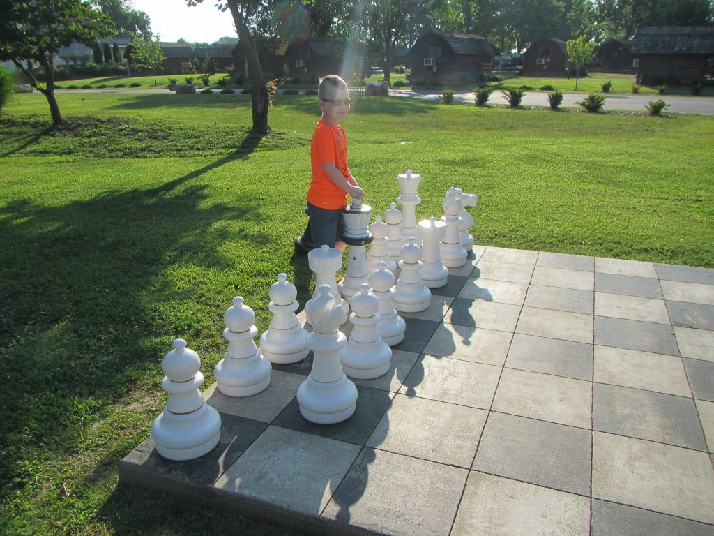 Chess on the Lawn Nashville Koa